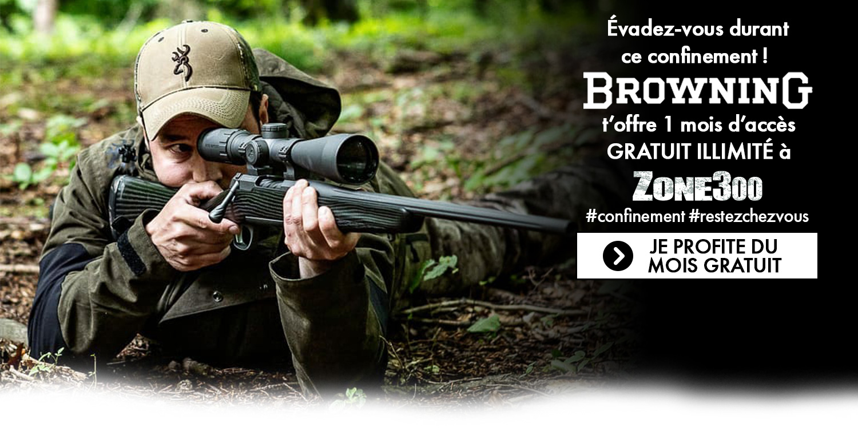 browning zone 300 abonnements gratuits