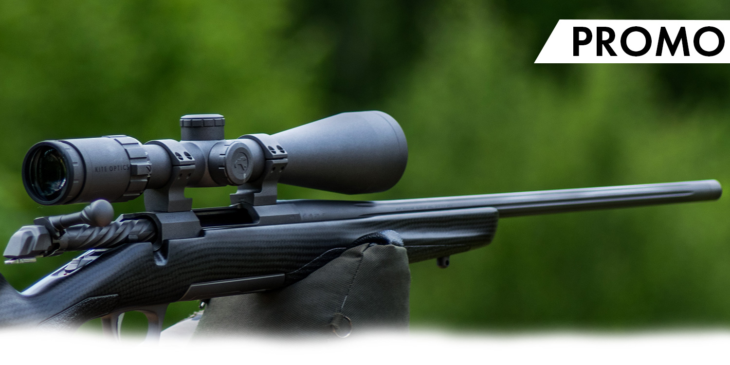 Cashback 150€ on a combo X-Bolt and Kite Optics scope
