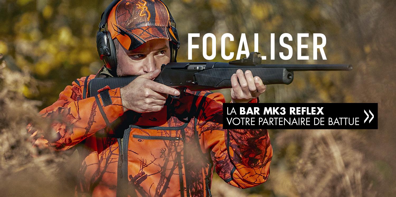 Carabine Browning BAR MK3 Reflex