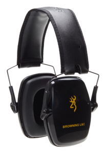 CASQUE DE PROTECTION, BROWNING L&C, PASSIVE, NOIR
