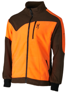 POLAIRE, POWERFLEECE ONE ZIPPIN, VERT ORANGE