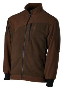 POLAIRE, POWERFLEECE ONE ZIPPIN, VERT BRUN