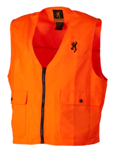 GILET DE SECURITE, X-TREME TRACKER, ORANGE FLUO
