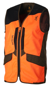 GILET, X-TREME TRACKER PRO, VERT-ORANGE