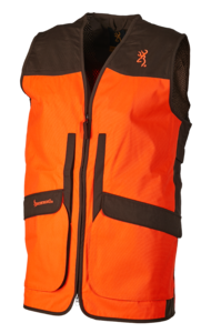 GILET, UPLAND HUNTER HI-VIS, VERT-ORANGE