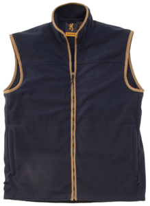 GILET POLAIRE, WINDSOR, BLEU