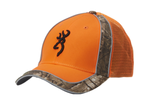CASQUETTE, POLSON MESHBACK, ORANGE