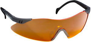 SHOOTING GLASSES, CLAYBUSTER, ORANGE